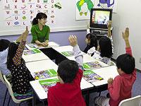 ステップワールド英語スクール仙台台原駅前校の主な学習コース マメ・コース(幼児)